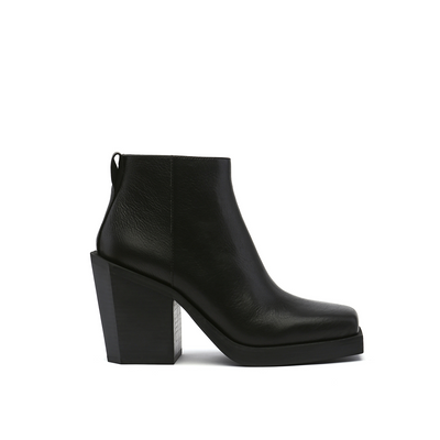 srxun ankle boot womens black out view
