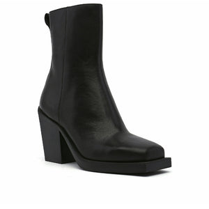 SRxUN Calf Boot Mens Black angle out view