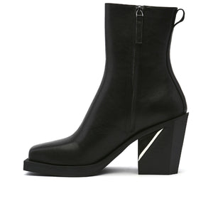 SRxUN Calf Boot Mens Black in view