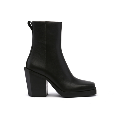srxun calf boot womens black out view