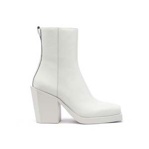 SRXUN Calf Boot Womens | White