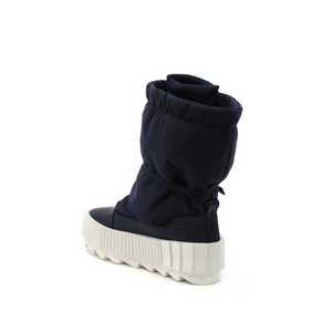 arctic boot navy angle in view
