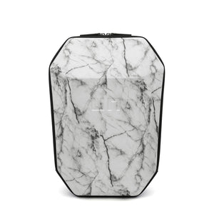 Stealth Backpack L White Marble front