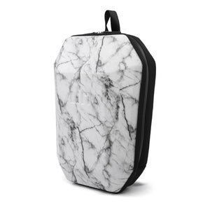 Stealth Backpack L White Marble angle in