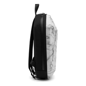 Stealth Backpack L White Marble side