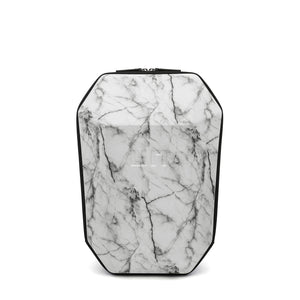 Stealth Backpack M White Marble front