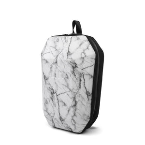 Stealth Backpack M White Marble angle in