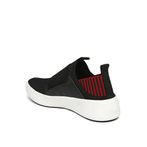 bo easy mens black + red angle in view