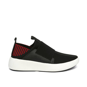 bo easy mens black + red out view