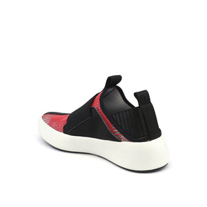 bo easy mens red + black angle in view