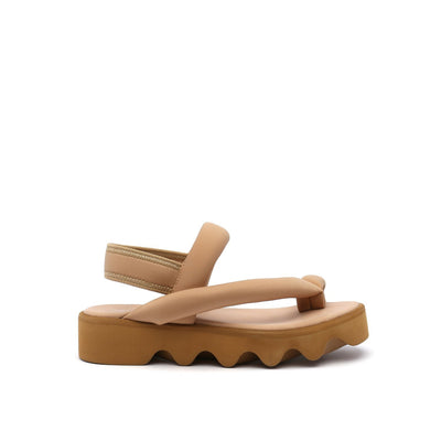bounce sandal beige out view