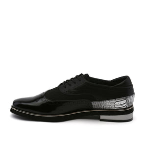 brogue mens black in