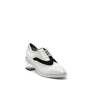 brogue white + marble angle out view