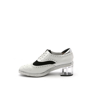 brogue white + marble in view