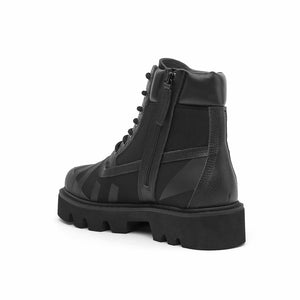 combat calli mens black angle in view