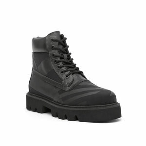 combat calli mens black angle out view