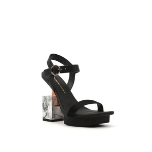 cube sandal hi black angle out view