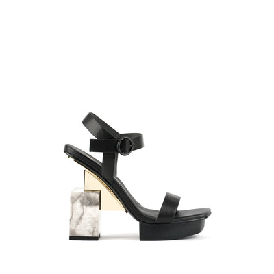 cube sandal hi black + marble 1 out view