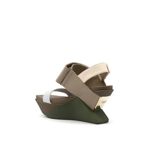 delta wedge sandal dusk angle in view