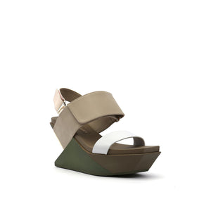 delta wedge sandal dusk angle out view