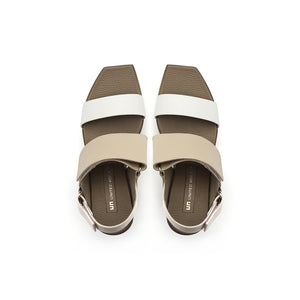 delta wedge sandal dusk top view