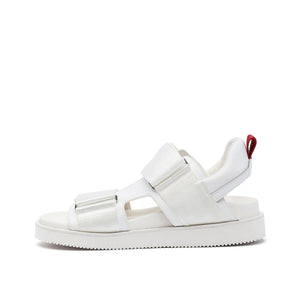 geo sandal mens white red mix in view