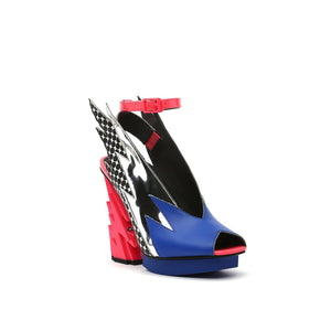 glam slingback pop art angle out view