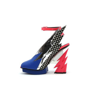 glam slingback pop art in view