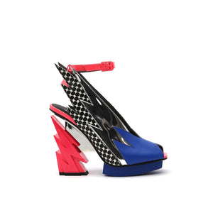 glam slingback pop art out view