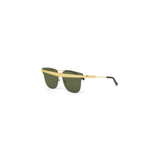 Delta Sunglasses Gold Mirror angle out view