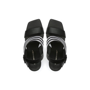 leona op sandal hi black top view