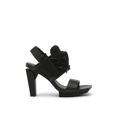 lev sport sandal hi black out view