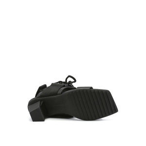 lev sport sandal mid black bottom view