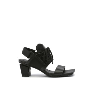 lev sport sandal mid black out view