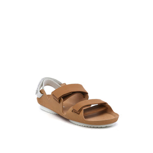 lilt sandal beige + white angle out view