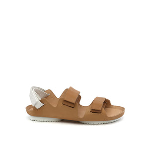 lilt sandal beige + white out view