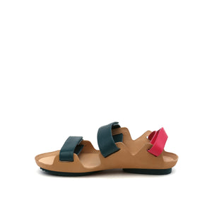lilt sandal green + pink in view