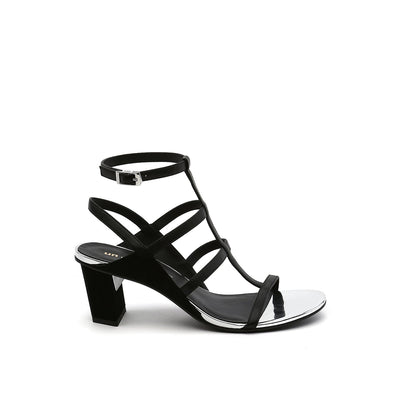 luxor sandal mid black mix out view