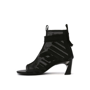 molten calli boote mid black in view