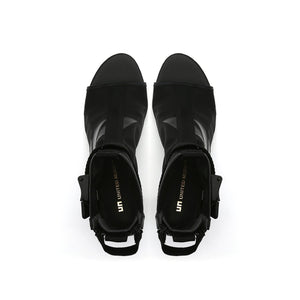 molten calli boote mid black top view