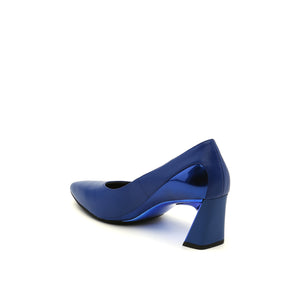 molten flow pump mid cobalt blue angle in