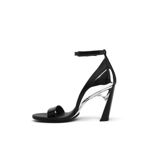 molten flow sandal hi black in view
