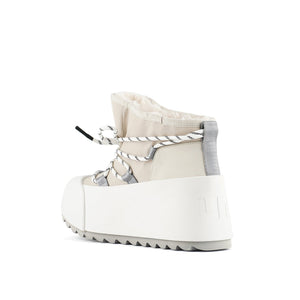 polar bootie off white angle in view