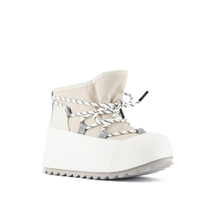 polar bootie off white angle out view