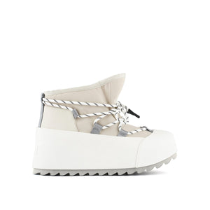 polar bootie off white out view