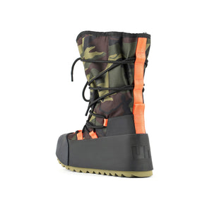polar calf boot camouflage angle in view