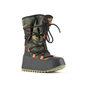 polar calf boot camouflage angle out view