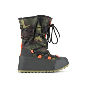 polar calf boot camouflage out view
