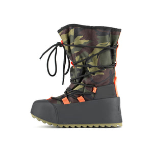 polar calf boot camouflage in view