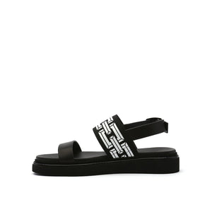 pop sandal lo black in view